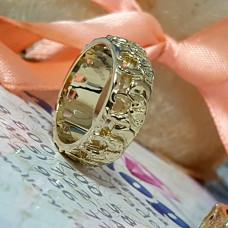 """Обручальное кольцо """"Слоны"""""""