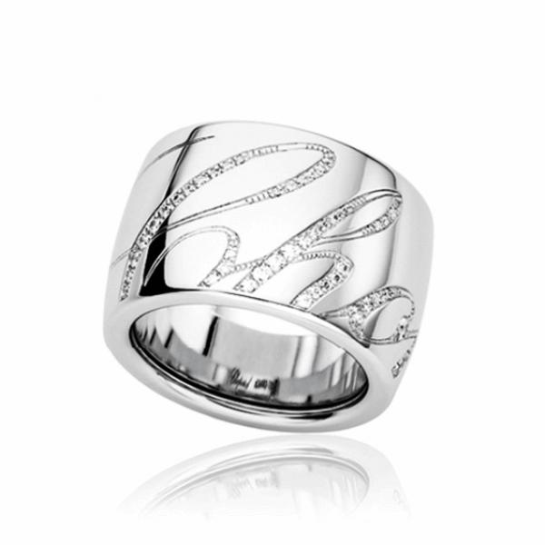 "Кольцо""Chopart"" из белого золота с бриллиантами"