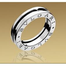 """Обручальное кольцо  """"BVLGARI"""" из белого золота"""
