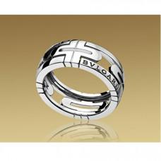 Обручальное кольцо из белого золота BVLGARI