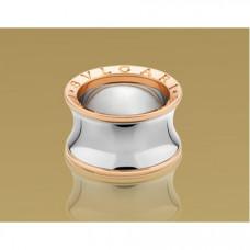 Обручальное кольцо из комбинированного золота BVLGARI