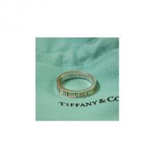 """Обручальное кольцо """"Tiffany Atlas"""" из белого золота"""